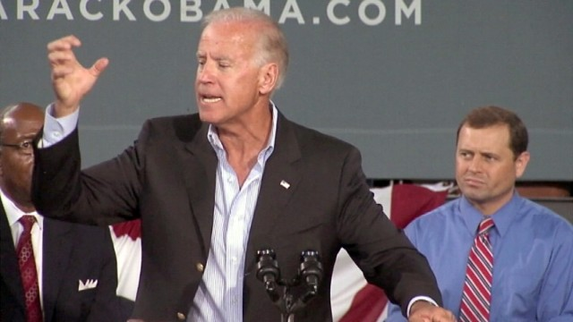 VIDEO: Biden Tells Crowd Romney Will Unchain Wall Street