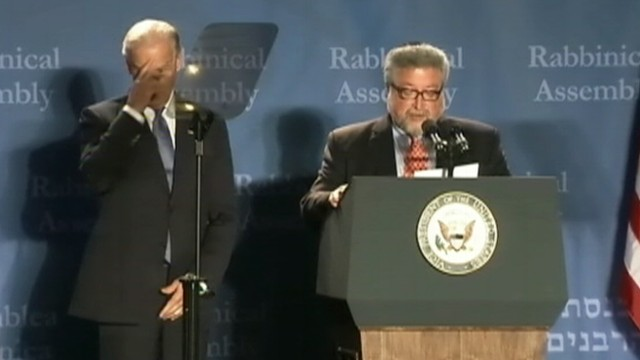 VIDEO: Joe Biden drew laughs in Atlanta at the Rabbinical Assembly Convention.