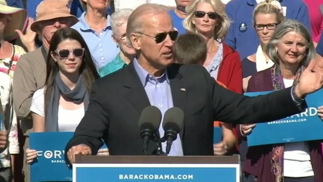 "VIDEO: Vice president calls ad playing in Ohio ""flagrantly dishonest."""