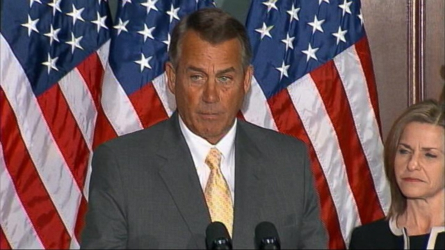 VIDEO: House Speaker John Boehner criticizes President Obamas plan to raise the minimum wage for federal contract workers.