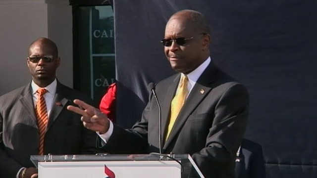 VIDEO: Herman Cain announces he will end his bid for the GOP nomination for President.