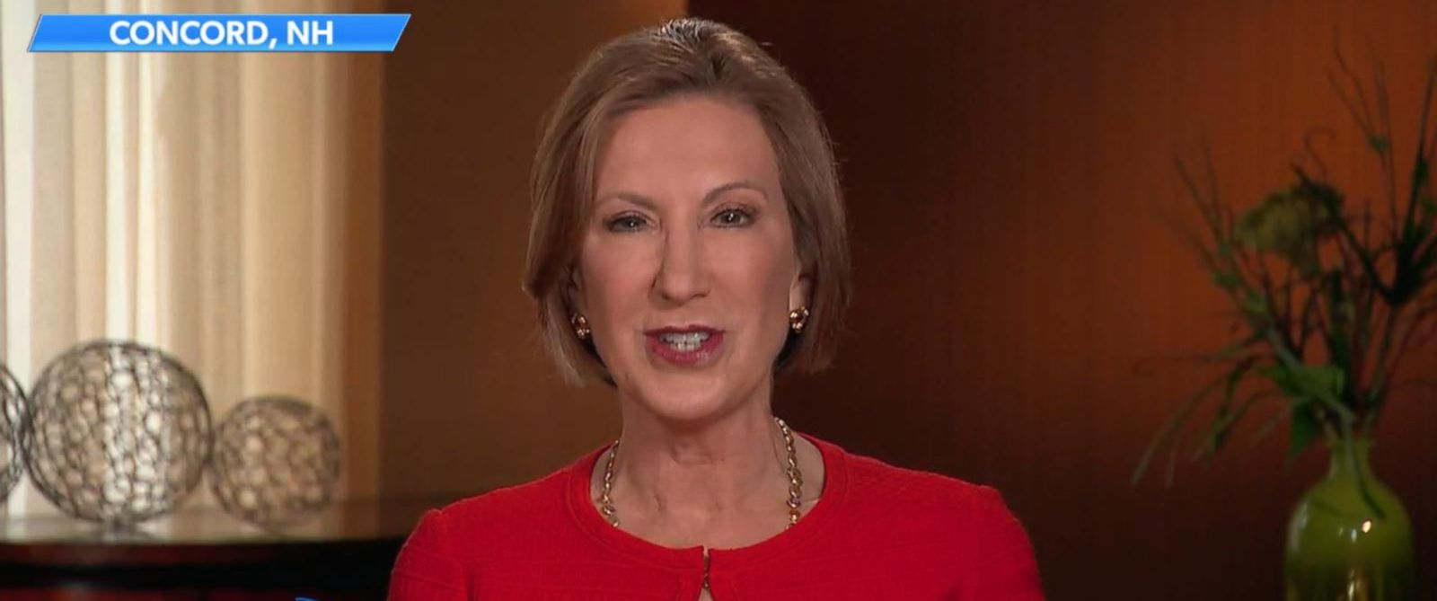 """PHOTO: Carly Fiorina appears on """"The View,"""" Nov. 6, 2015."""
