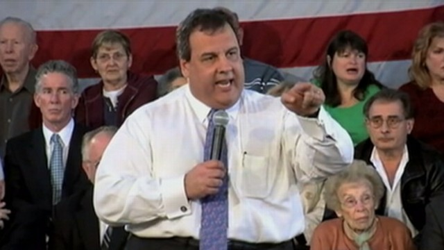 VIDEO: N.J. governor gets angry while being interrupted during town hall meeting.
