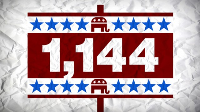 VIDEO: 1,144 reasons for wholl be the GOP presidential nominee in 2012.