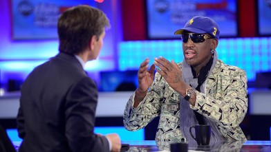 PHOTO: Former NBA Star Dennis Rodman on 'This Week'