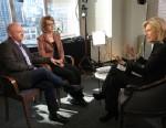 PHOTO: Diane Sawyer interviews Gabby Giffords and Mark Kelly, Jan. 6, 2013.