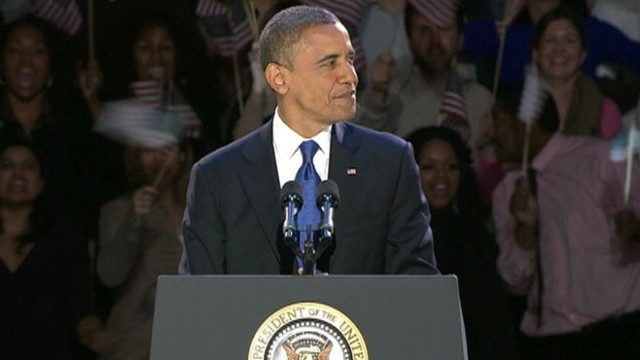 VIDEO: President Obama Wins 2012 Election