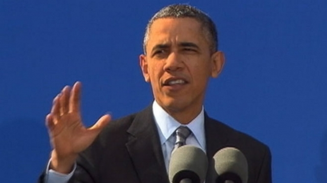 VIDEO: Obama Visits DreamWorks and Promotes Entertainment Industry Workers