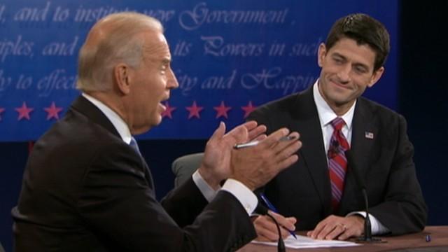 VIDEO: Vice president, Rep. Paul Ryan debate White House response to economic crisis.