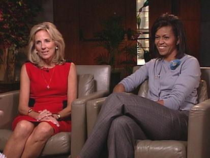Jill Biden, Michelle Obama
