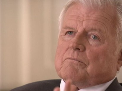 VIDEO: Ted Kennedy opens up for the camera in the last years of his life.