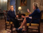 "PHOTO: In her final television interview as Secretary of State, Hillary Clinton told ""Nightline"" anchor Cynthia McFadden that she is ""flattered and honored"" at the intense interest in whether she might run for president in 2016. But Clinton maintained tha"