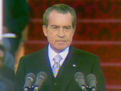 VIDEO: Richard Nixon gives his inaugural address.
