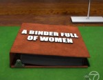 """PHOTO: One of the categories on """"Jeopardy!"""" was a binder full of women on the episode which aired Feb. 25, 2013."""