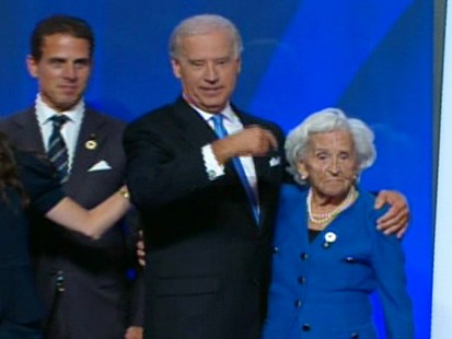 Video of Vice President Joe Biden at the DNC talking about his mother.