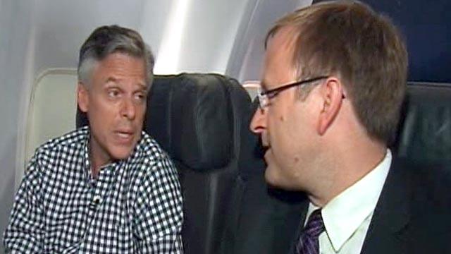 PHOTO:Jonathan Karls interview with Jon Huntsman.