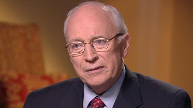 PHOTO:Jonathan Karl interviews former Vice President Dick Cheney.