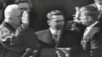 PHOTO:John F. Kennedy's 1961 inaugural swear in.