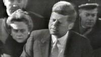 PHOTO:John F. Kennedy's 1961 inaugural speech.