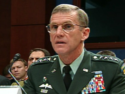 Video of Stan McChrystal testifying on Capitol Hill on Afghanistan.