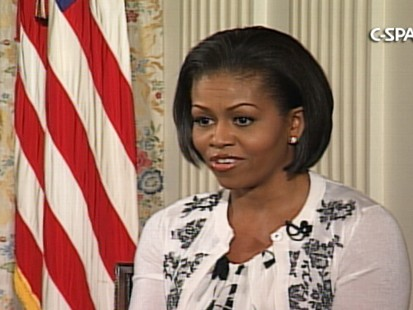 Video of First Lady Michelle Obamas Lets Move Campaign.