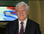PHOTO: 2012 Republican Presidential Candidate and Former House Speaker Newt Gingrich on This Week