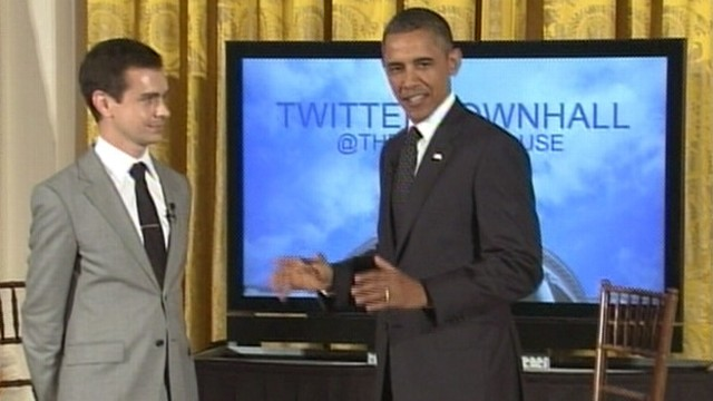VIDEO: The president answers tweets on the U.S. economy and job creation.