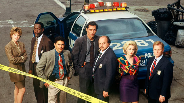"""PHOTO: ABCs """"NYPD Blue"""" television series is seen here in this 1994 file photo."""