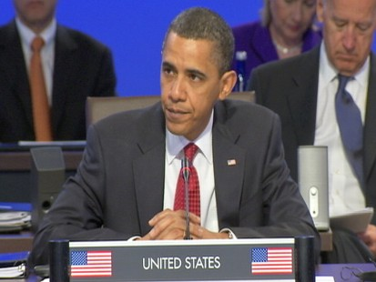 Video of President Obama kicking off nuclear summit in Washington.