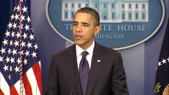 PHOTO:President Barack Obama holds a press conference, Dec. 23, 2011.