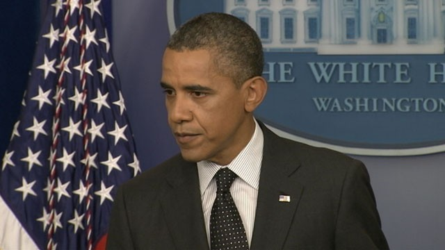 VIDEO: President Obama says a red line on dealing with Syria would be use of chemical weapons.