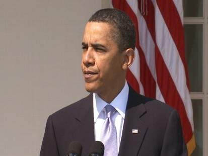 Video of President Obama announcing safety review of West Virginia mine.