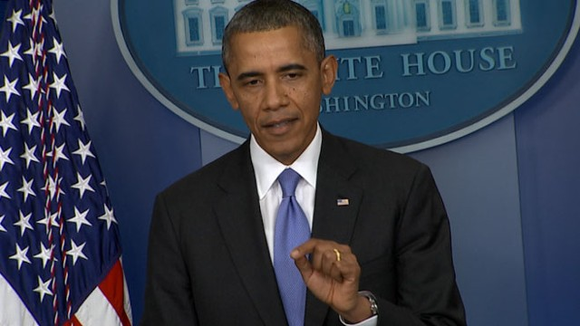 VIDEO: Obama Praises Congressional Leaders For Shutdown Agreement