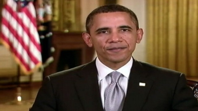 VIDEO: The president urges the nation to speak up and end gridlock in Washington.