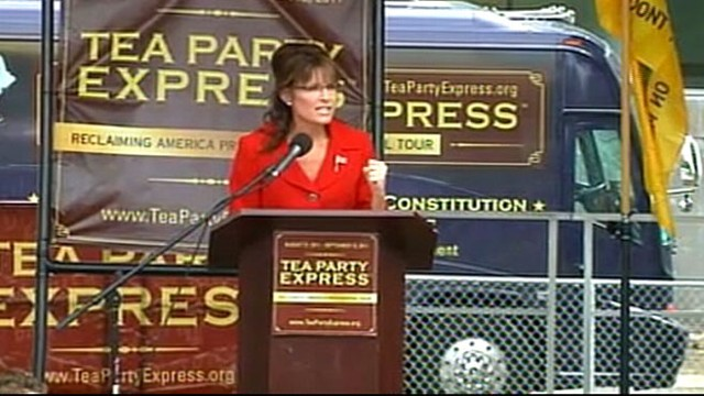"Tea Party darling says Barack Obamas term has been a ""strange transformation."""