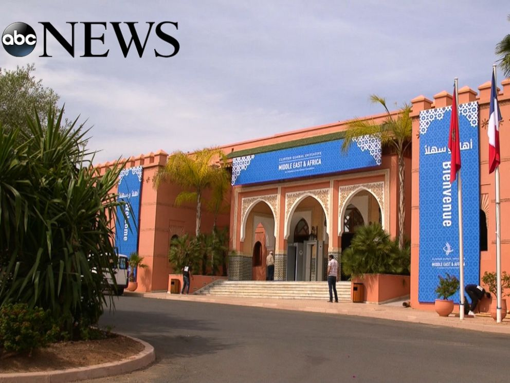 PHOTO: The Palmeraie Palace outside Marrakesh, Morocco, was the setting for the Clinton Global Initiative Conference in May 2015.