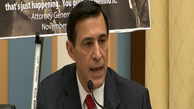 VIDEO: Republican Rep. Issa Grills Attorney Gen. Holder