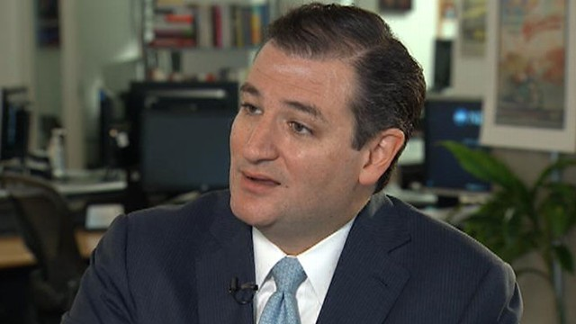 VIDEO: Ted Cruz blamed his fellow Senate Republicans for resisting his strategy to defund Obamacare.