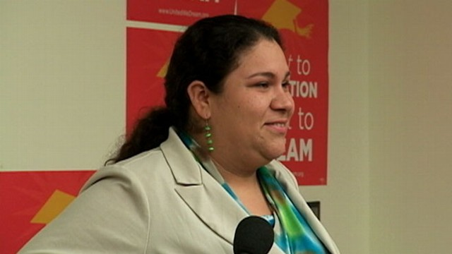 VIDEO: DREAM Act advocates have an emotional response to the presidents remarks.