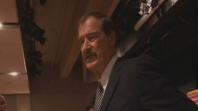 VIDEO: Former Mexican President Scolds Cain, Perry