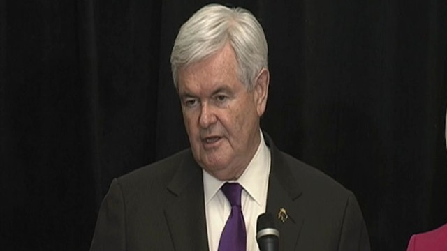 VIDEO: Newt Gingrich Drops Out of 2012 Race
