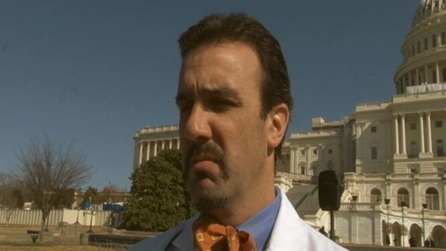 VIDEO: Mustachioed-activists Lobby for $250 Tax Deduction