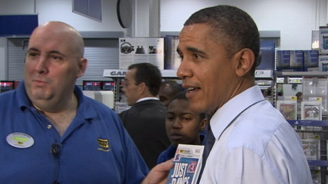VIDEO: President Obama Goes Christmas Shopping