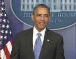 Reporters Scramble for Obamas Surprise Briefing Room Appearance