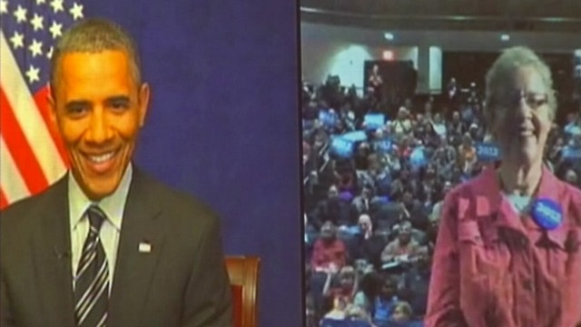 VIDEO: Obama Uses Webcast to Rally His Iowa Roots