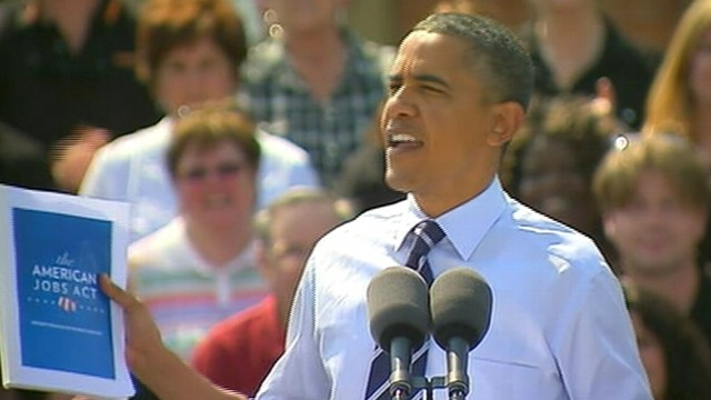 VIDEO: Obama Says Jobs Plan Isnt About Giving Me a Win