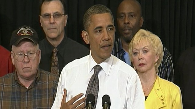 VIDEO: Obama: I Wasnt Born With a Silver Spoon in My Mouth