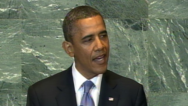 VIDEO: Obama Speaks to U.N. About Israel and Palestine