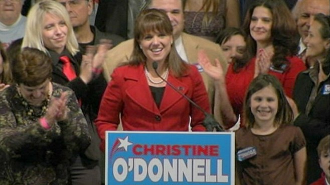 VIDEO: Christine ODonnell issues set of demands to Democratic winner Chris Coons.