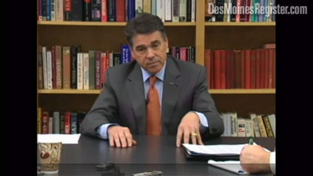 VIDEO: GOP contender Rick Perry cant remember Supreme Court Justice Sonia Sotomayor.